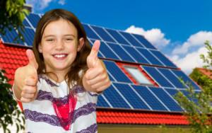A napelemes áramtermelés az a jó!